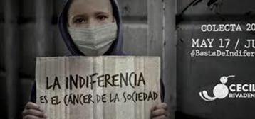 #BastadeIndiferencia por los niños con cáncer de Ecuador