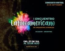 I Encuentro Latinoamericano de Orquestas Juveniles